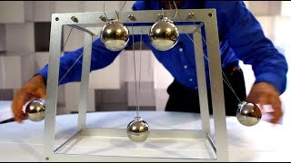 10 Tricks with a GIANT Newton's Cradle
