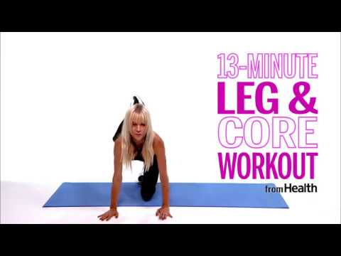 13-Minute Leg & Core Workout   Health