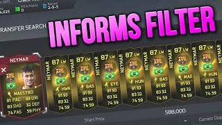 FIFA 15 - HOW TO SEARCH FOR INFORM PLAYERS ONLY! - (FIFA 15 TRADING TRICK & TIPS)