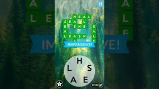wordscapes level 1-50 gameplay (no hints)