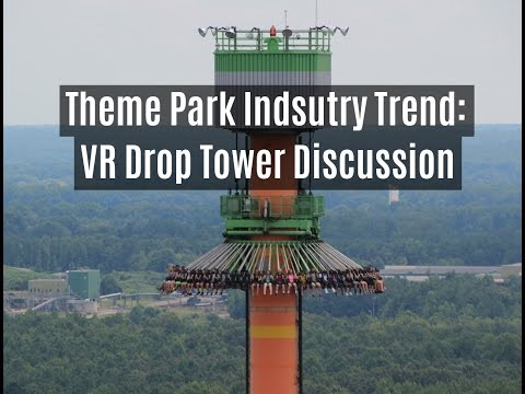 Virtual Reality Drop Tower Analysis: Drop of Doom VR Discussion by The Brake Run