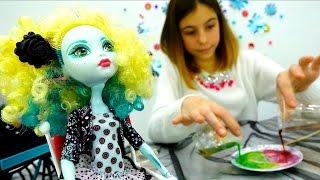 Эксперимент куклы Монстер Хай - Опыты дома