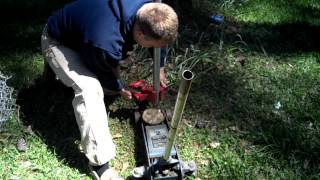 How To Pull Up A Chain Link Fence Post No Digging