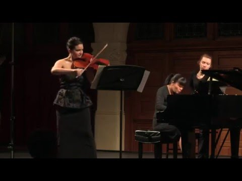 Schumann, Adagio and Allegro op.70- Marina Thibeault, Viola, Janelle Fung, Piano