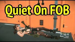 Play as Quiet on FOB in MGSV: Phantom Pain (Metal Gear Solid 5)