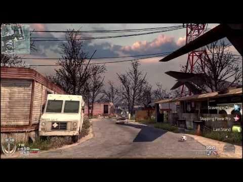 Modern Warfare 2 Rapid Fire Mod Gameplay :: Akimbo USPs on Trailer Park- EvanMods.com