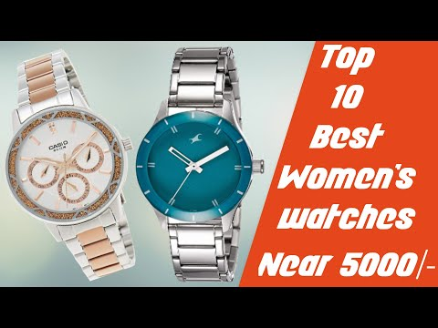 10 Best  Watches For Women's Near 5000/- | With Price | India