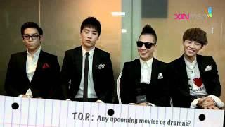 110715 BIGBANG 「Korean Music Wave 2011」  Interview #2