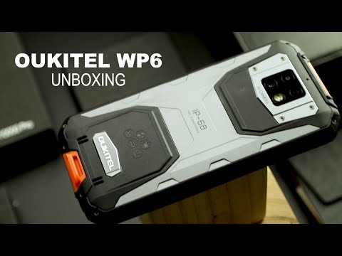 OUKITEL WP6: Unboxing The First Rugged Phone With Both 10000 mAh and 48MP Triple Cameras