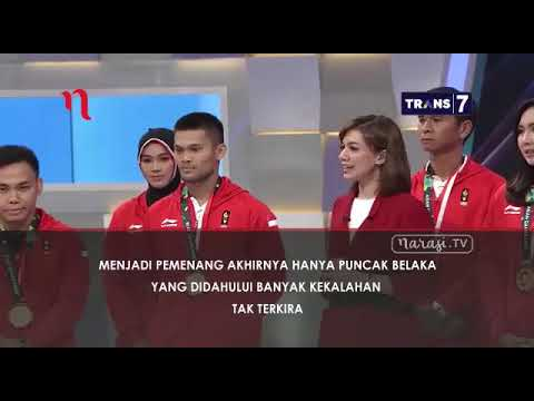 "NAJWA SHIHAB "" Catatan Para Juara"" Asian Games."