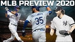 MLB 2020 Season Preview (Predictions/Standings/World Series)