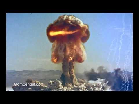 Nukes Exploding