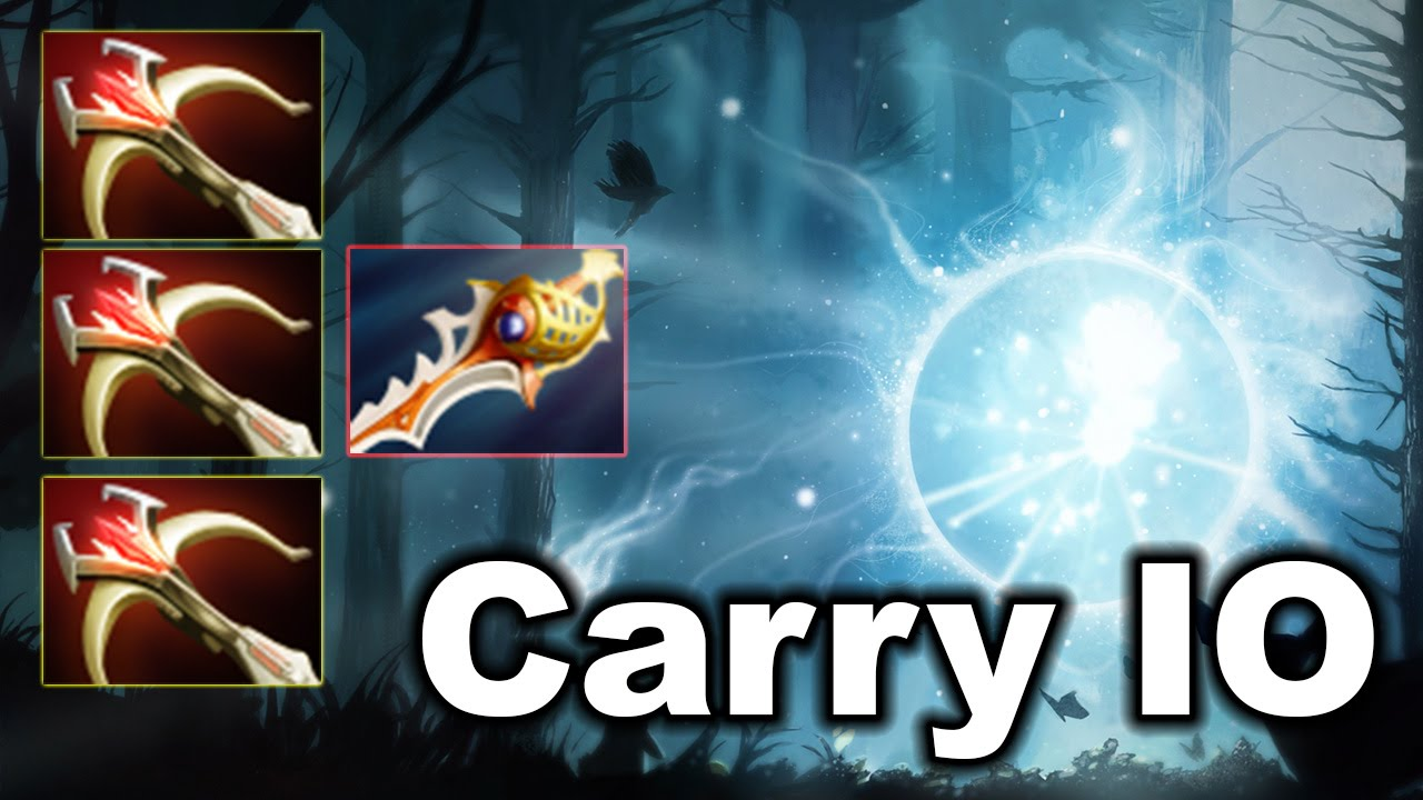 7 Slotted Carry Io Killer Guardian Wisp Dota 2 Youtube