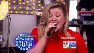 Kelly Clarkson   Since U Been Gone Live on Good Morning America 2015 HD