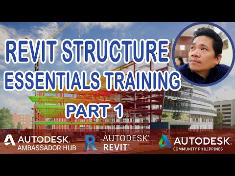 Revit STRUCTURE Essentials Training (Part1)!