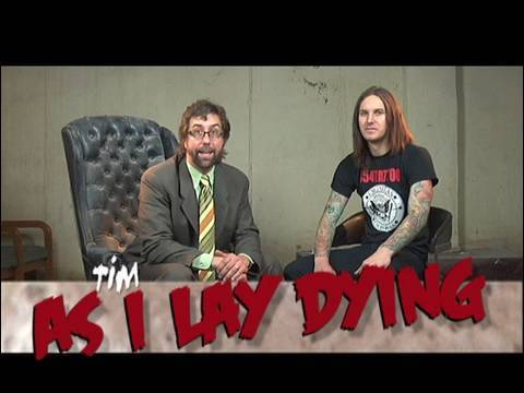 As I Lay Dying Interview