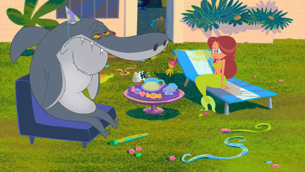 Zig Amp Sharko Bernie Moves House S01e70 Full Episode