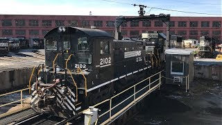 Railfanning Altoona, PA 11/11/17