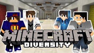 Minecraft Parkour: Diversity [1/x] w/ Undecided, Happy, Tomek