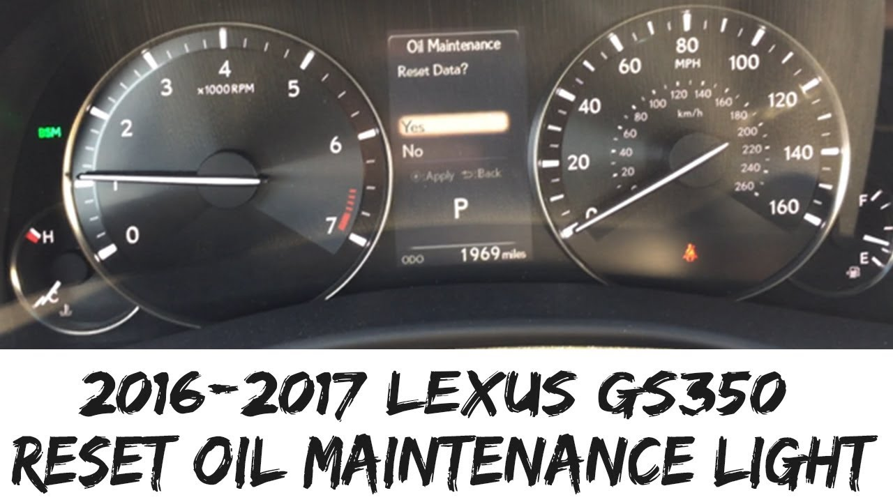 lexus gs 350 oil type