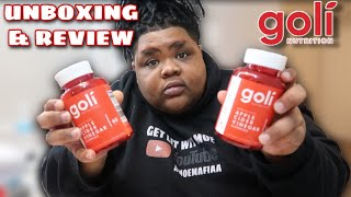 UNBOXING MY GOLI GUMMIES REVIEW AND TASTE TEST