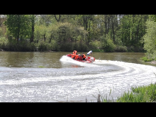 łódź dla OSP Rudnik