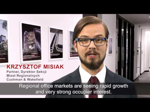 Demand for office space sets a new high in Polish regional cities