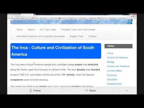 History & Culture (The Inca - Culture and Civilization of South America)