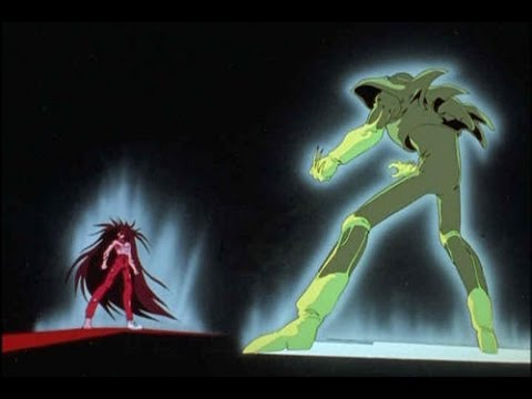 Yu Yu Hakusho - Yusuke vs Sensui (Yusuke power up)