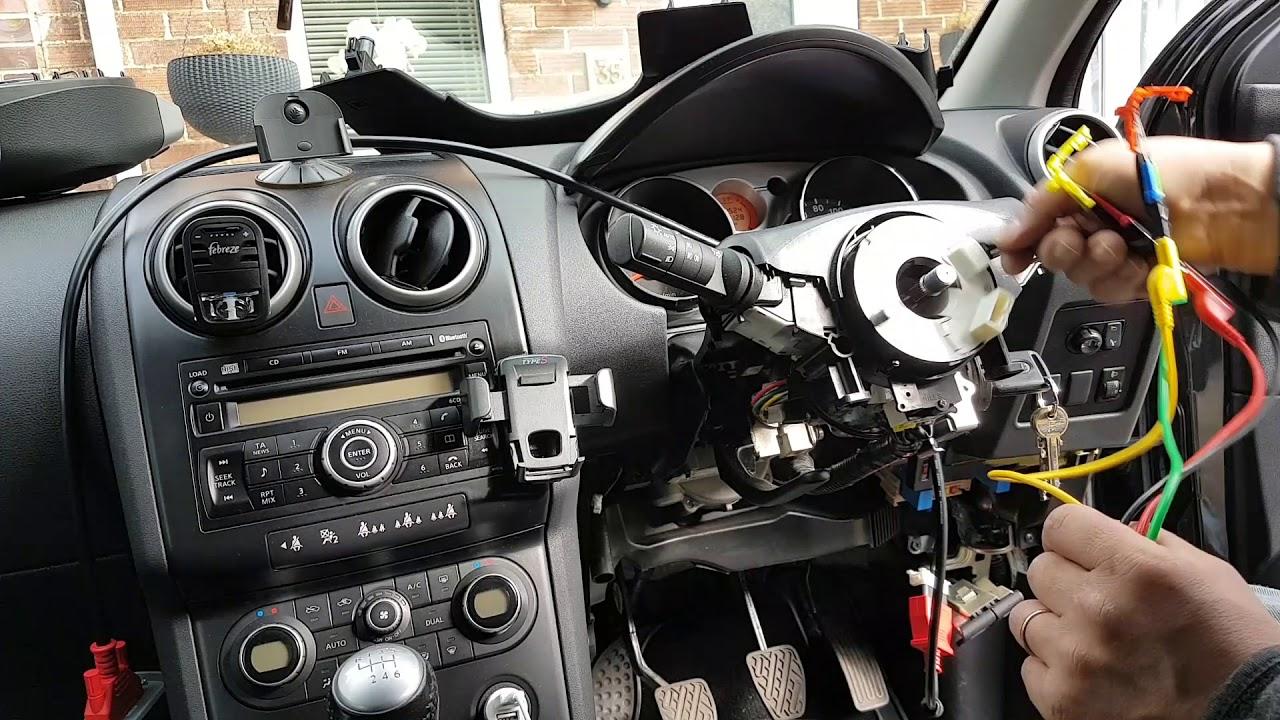 Nissan Qashqai Airbag light flashing. Error B1049. Fault ...