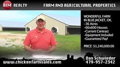 Wonderful money making farm in BLUE JACKET, OK. MUST SEE!