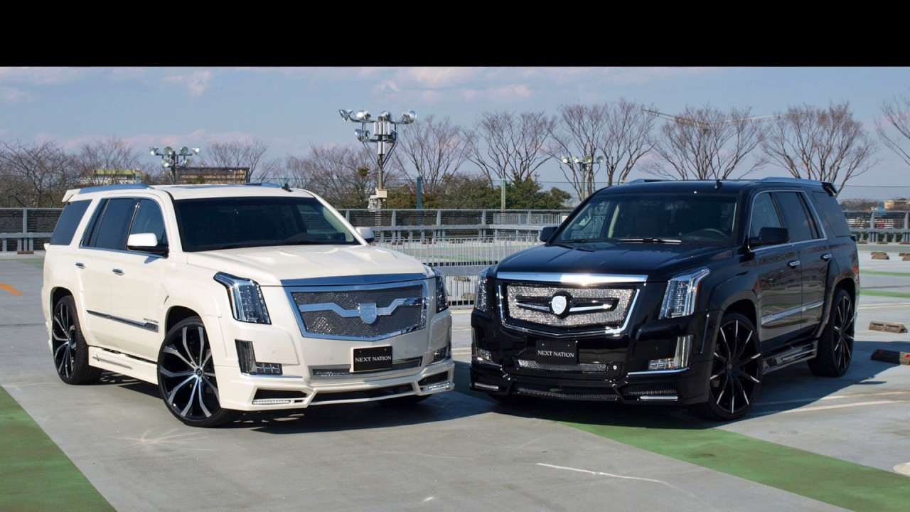 Cadillac Escalade 2017 Tuning - YouTube