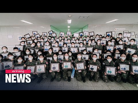 75 newly-commissioned nursing officers return from Daegu after 5 weeks of medical support