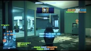 Battlefield 3 PS3 Clan War Operation Metro DKR vs ARG