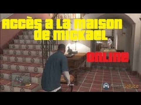 Gta 5 online rentrer dans la maison de micka l fr for Aoutats dans la maison