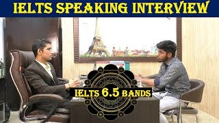 ✔IELTS Speaking Test Band 6.5  Sample Interview - IELTS Speaking Indian Student