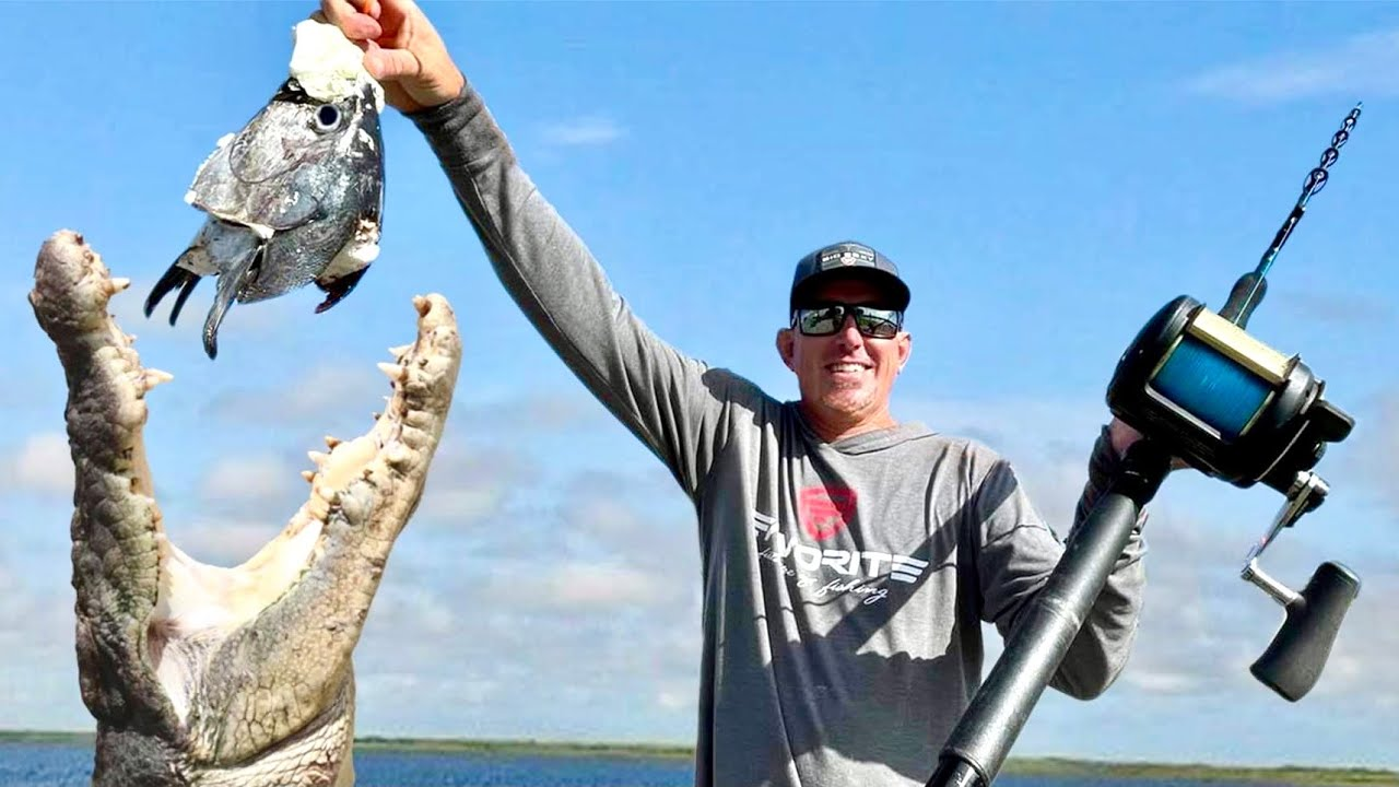 Monster ALLIGATOR and TUNA Catch & Cook (The BEST Gator Tacos Ever)