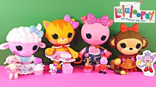 Lalaloopsy Pet Pals Peppa Pig Hello Kitty Doc Mcstuffins Dora The Explorer Toys Animal Dolls