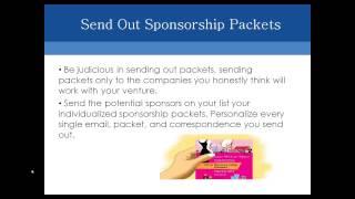 Succeeding with Corporate Sponsorships Webinar
