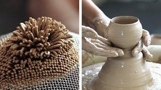 SENI TEMBIKAR ASMR yang Menenangkan: mahakarya menakjubkan dari tanah liat dan keramik
