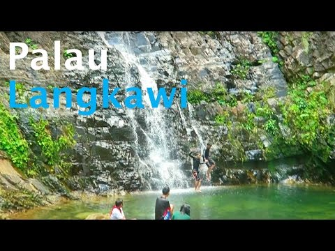 Palau Langkawi Malaysia Beaches & Waterfalls Vlog 65