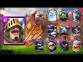 PRINCE VS ALL CARDS IN CLASH ROYALE | PRINCE 1 ON 1 GAMEPLAY