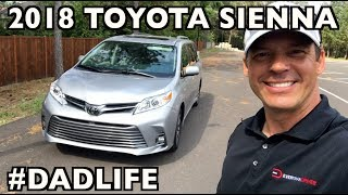 Here's the 2018 Toyota Sienna MiniVan on Everyman Driver