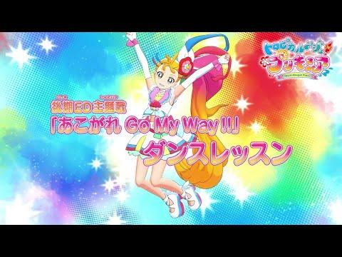 【ダンスレッスン】トロピカル~ジュ!プリキュア 後期エンディング主題歌「あこがれ Go My Way!!」