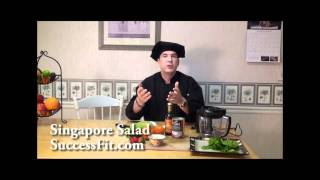 Singapore Salad - Fruit And Coconut Recipe - Super Foods