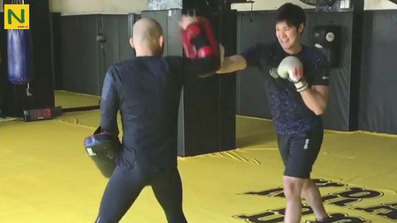 大谷翔平 格闘技