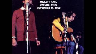Simon & Garfunkel - Bridge Over Troubled Water - Miami University, 1969 (Live, audio)