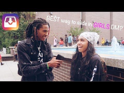 BEST Way To Slide In Girls Dm? | Public Interview