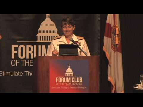 Forum Club - 5.4.17 Vice Admiral Jan Tighe