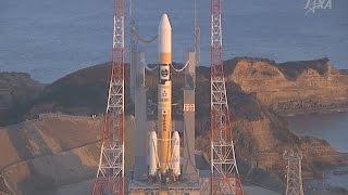 JAXA H-2A Astro-H X-ray telescope launch